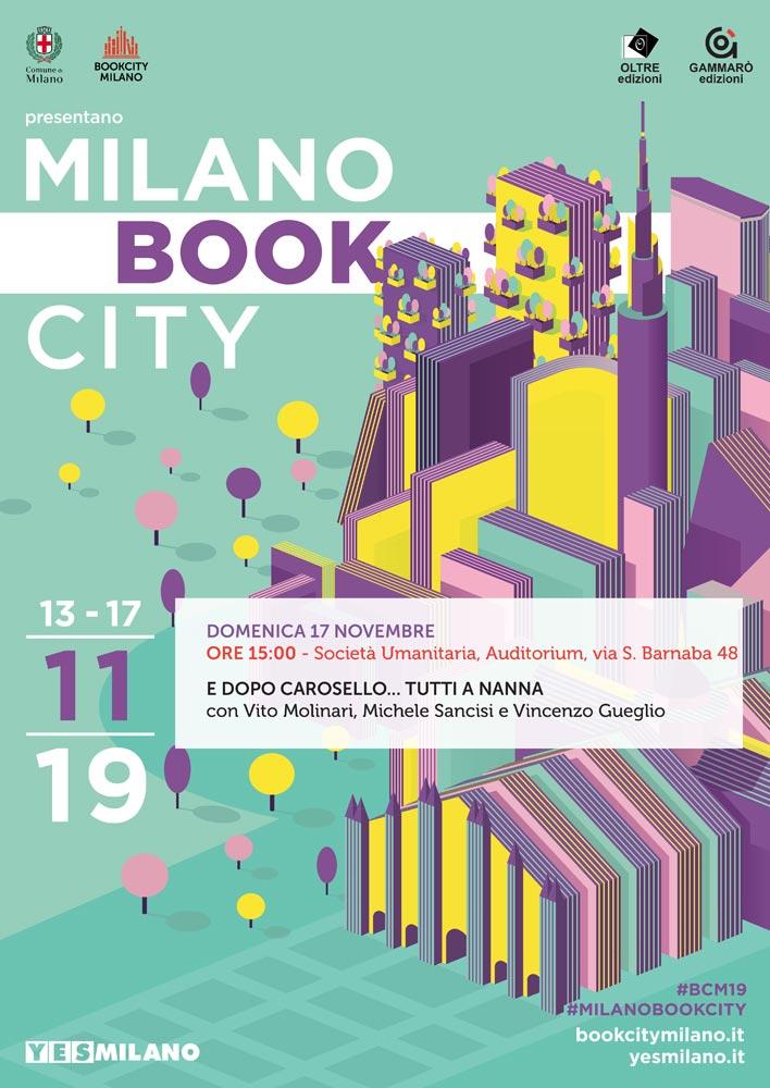 Vito Molinari a Book City Milano 2019