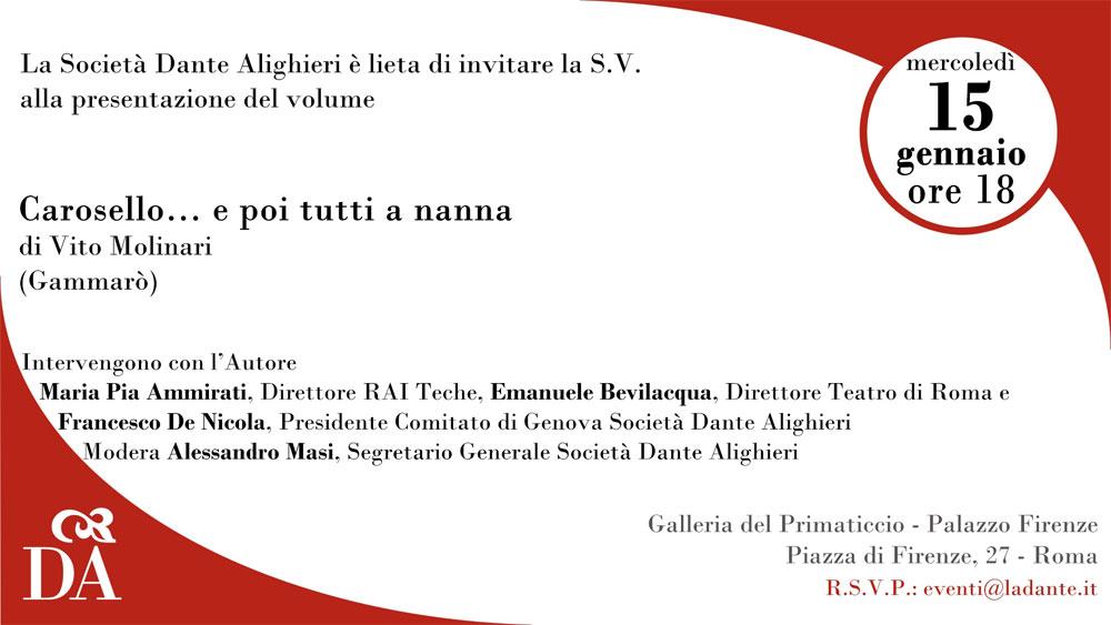 Presentazione Carosello - Roma